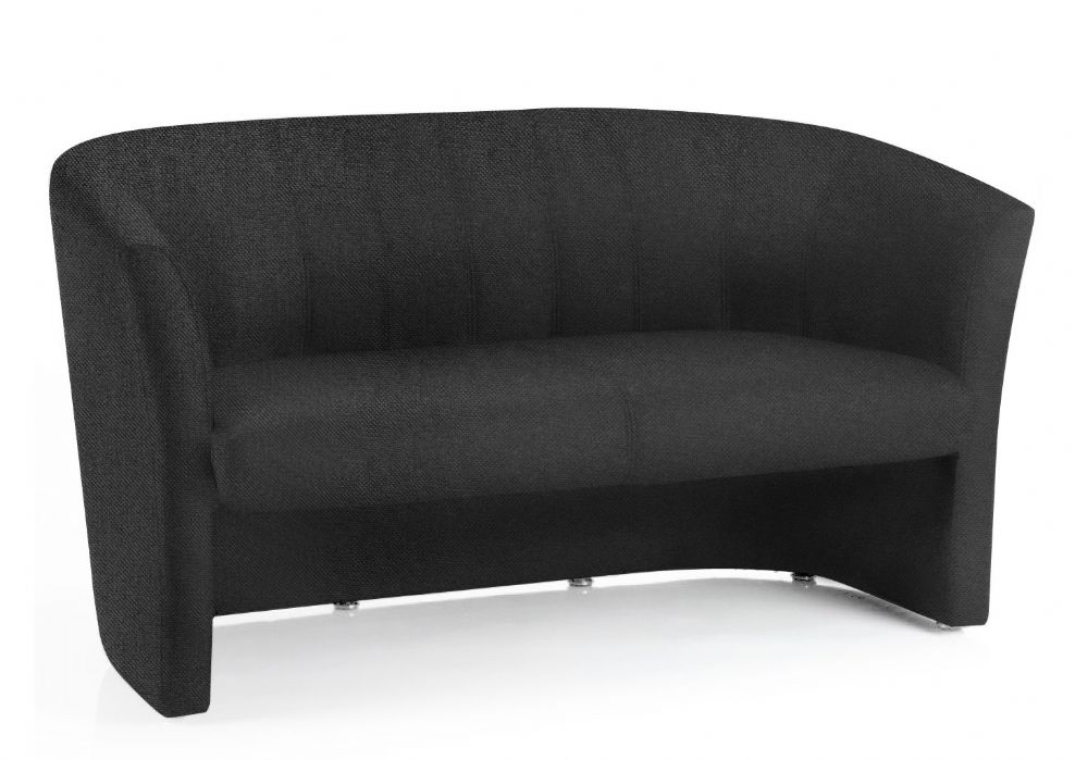 Neo Twin Tub Sofa Fully Upholstered Two Seater Sofa Fluted Back Choice of Fabric Colours